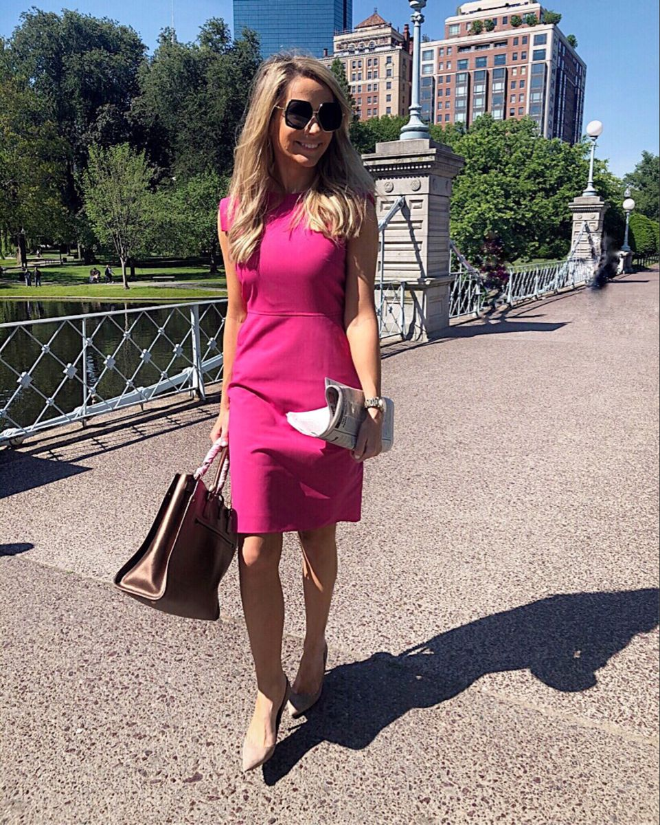 Spring dress for work! ???? Click the photo to shop