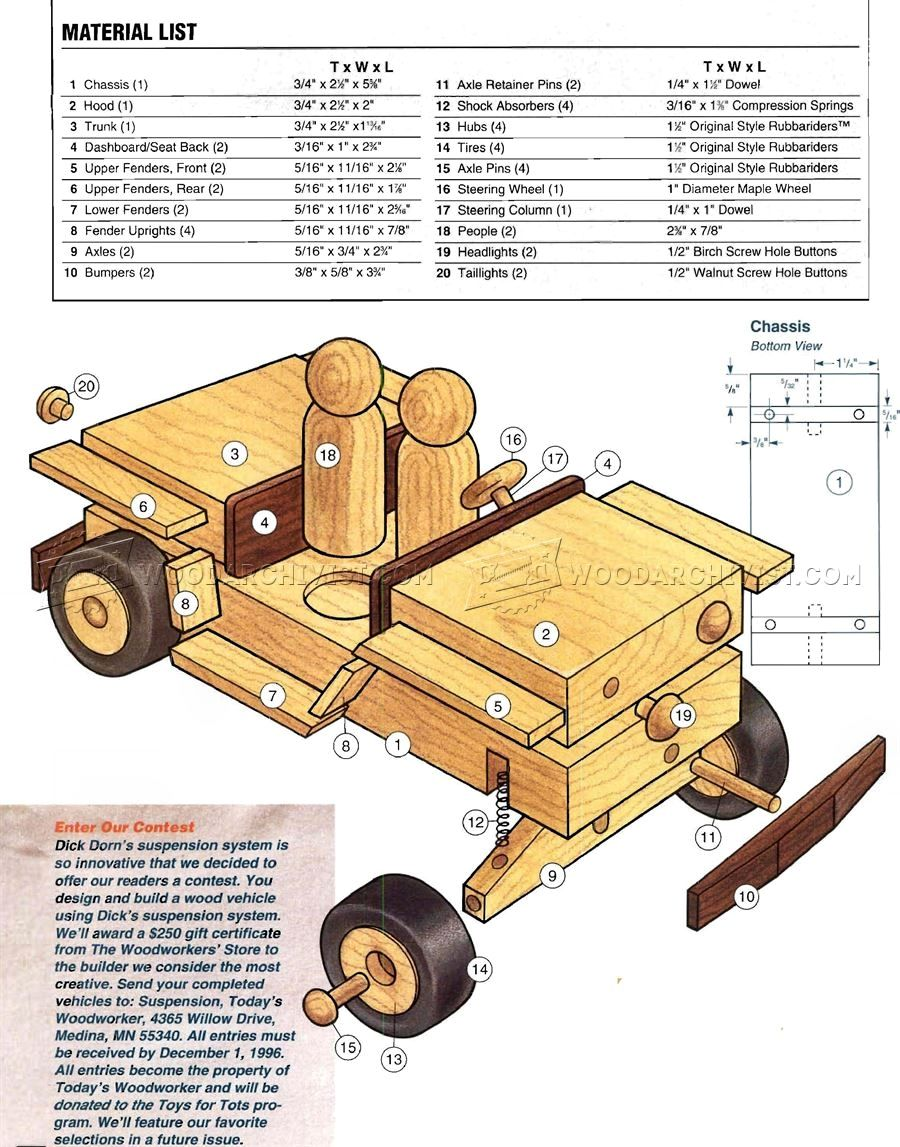 50 wooden jeep plans smart wooden toy plans you can do