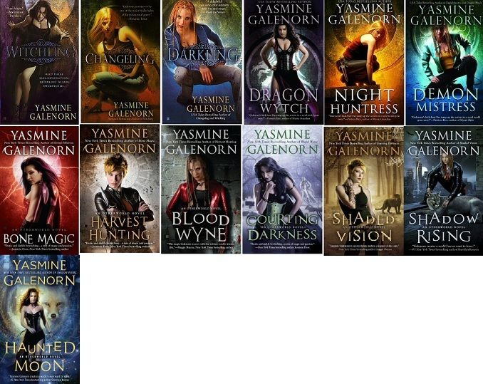 Complete Otherworld Series Author Yasmine Galenorn Paranormal