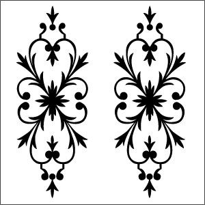 glass etching templates for free - glass etching stencil for windows by front door for the
