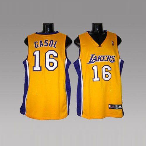 4edcdb5ac4e Los Angeles Lakers  16 CASOL Yellow