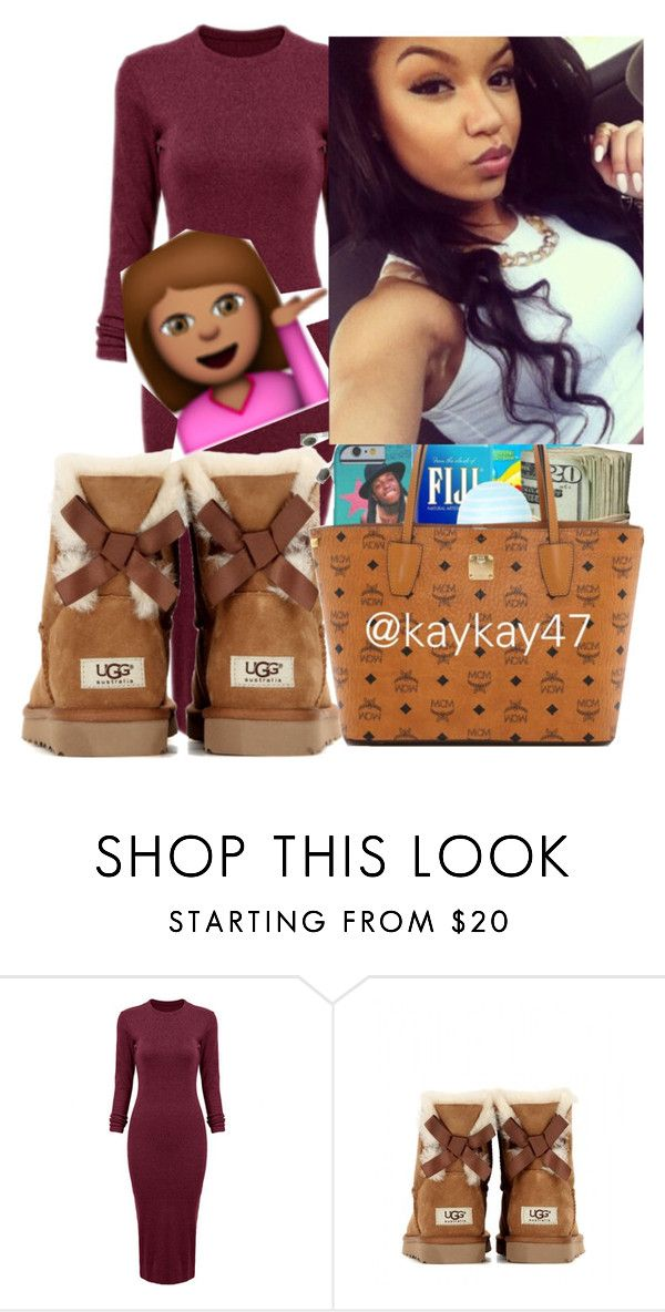 """""""Miness"""" by ashantisowell on Polyvore featuring UGG Australia"""
