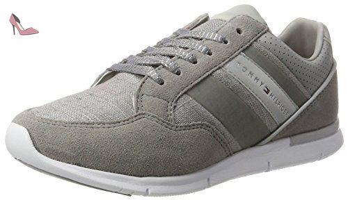 Tommy Hilfiger S1285kye14c2, Sneakers Basses Femme, Gris