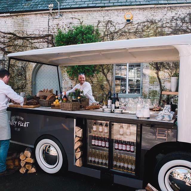 Food Truck Wedding Ideas: Vintage Milk Truck Cocktail Bar In 2019