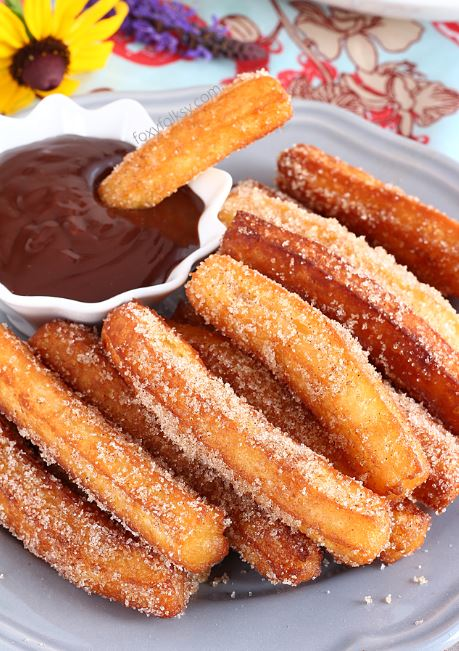 Homemade Churros Recipes Arena Site Resep Makanan Penutup