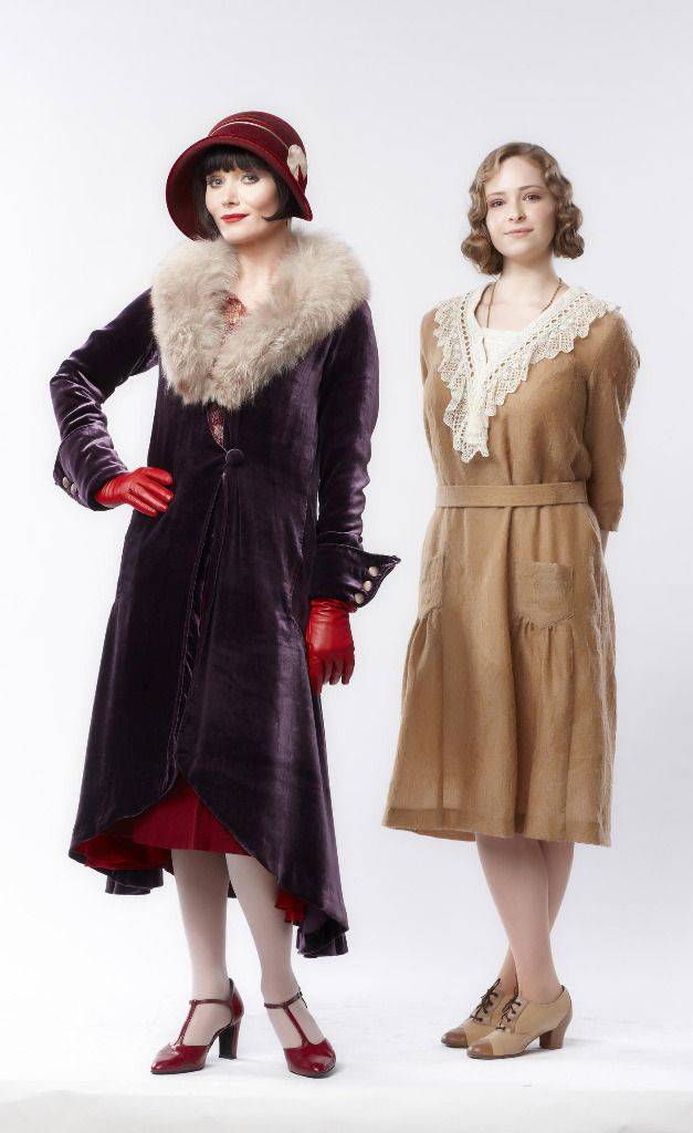 Phryne Fisher's Fabulous Frocks — The first outfit Miss Fisher wears in Season 1,...