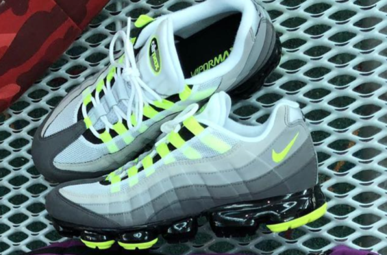 online store 2e7ed 127fe Nike Air VaporMax 95 OG Neon Arriving This Fall The Nike Air VaporMax 95 is  another