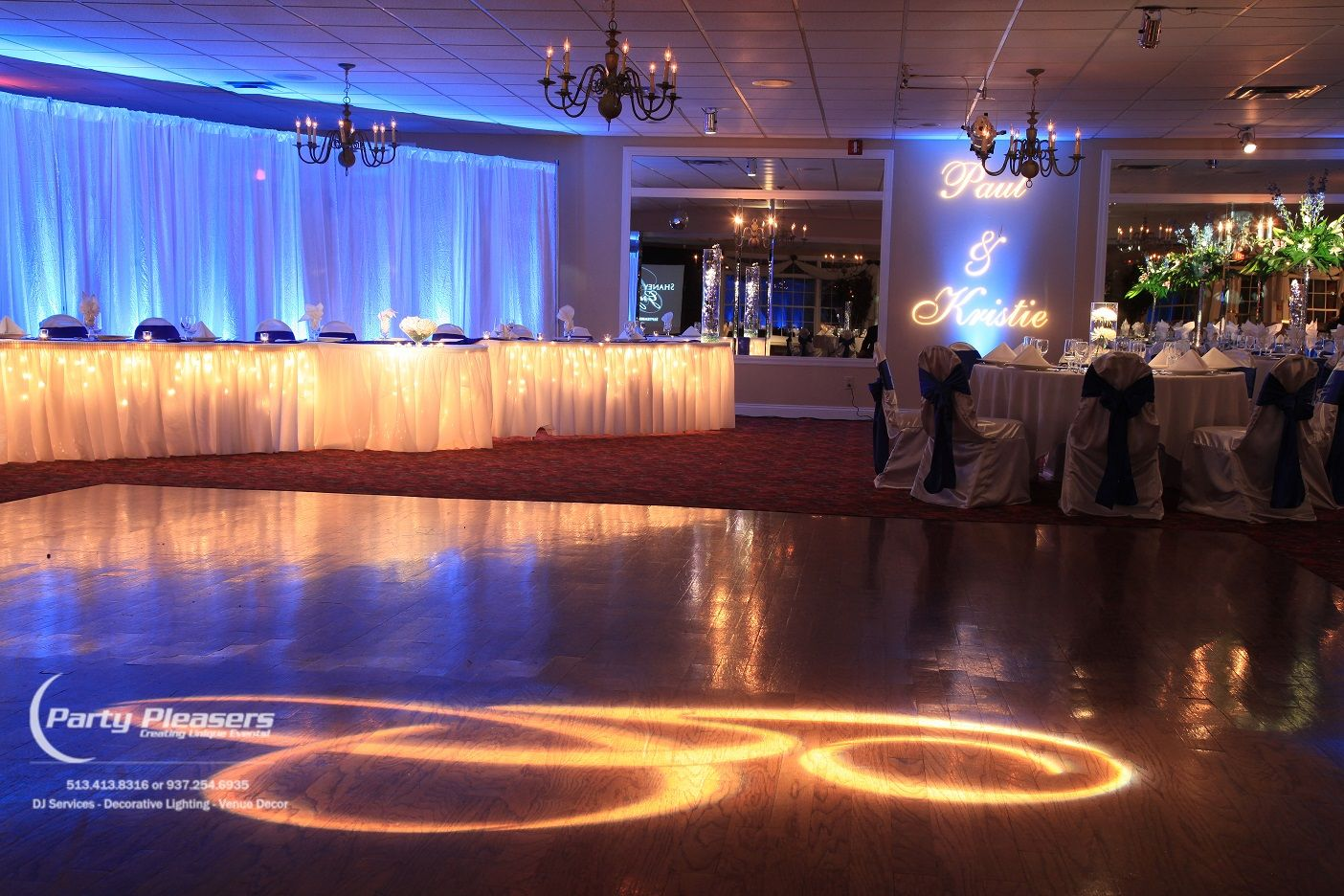 Belwood Country Club Light table, Dayton, Pleaser