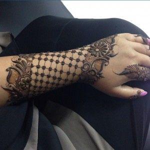 نقوش حناء خليجي 2014 نقوش حناء اماراتي تخبل شبكة لمسة فنان نقش Henna Unique Henna Mehndi Designs