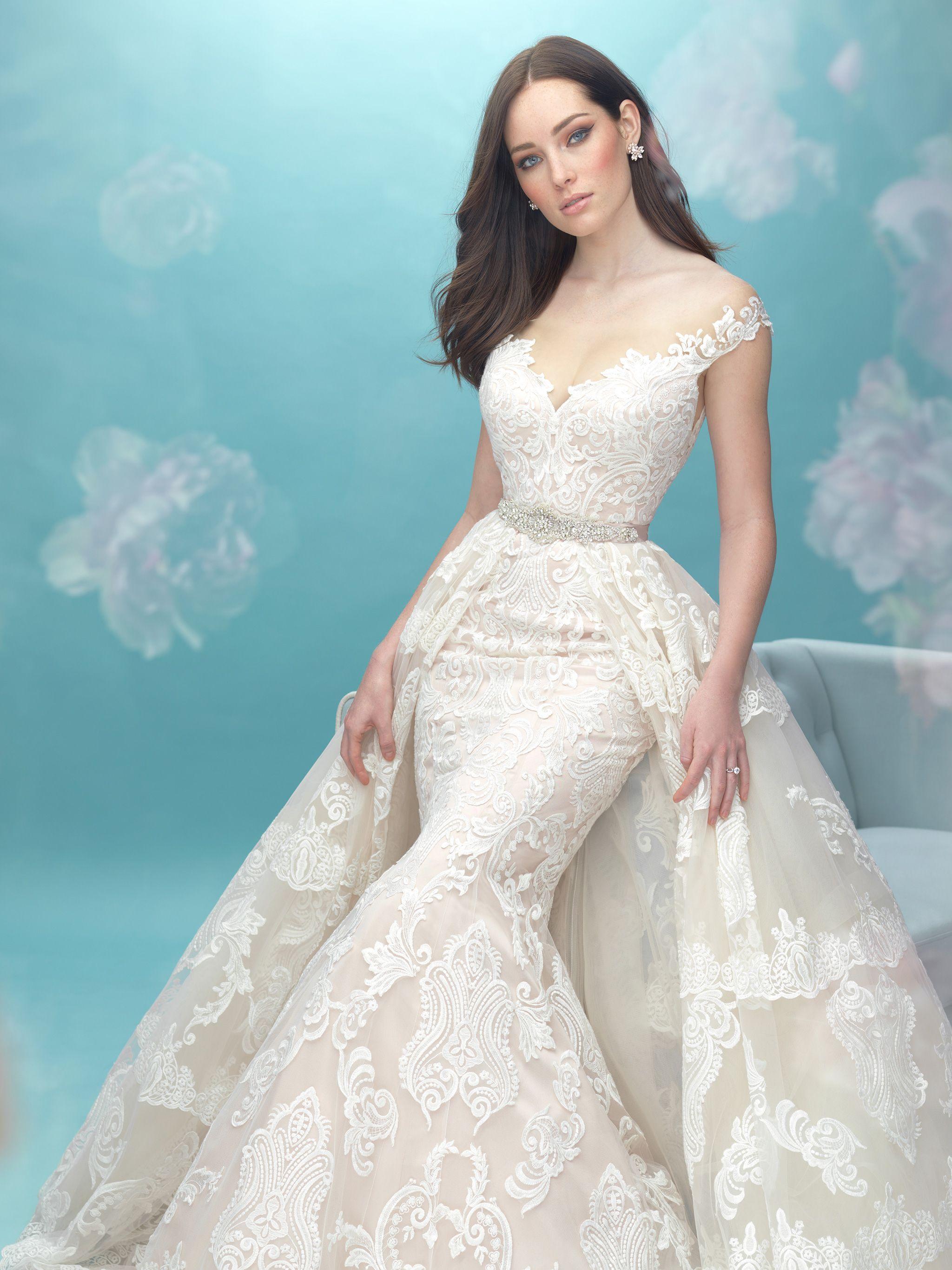 Allure Bridals: Style: 9474T   Wedding dresses   Pinterest   Allure ...