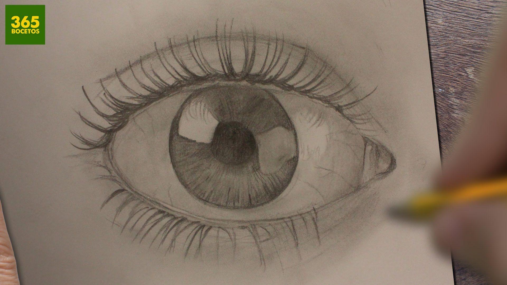 Como Dibujar Ojos Realistas A Lapiz Paso A Paso Dibujos Faciles