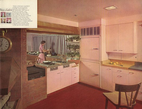 Revco Bilt-In refrigerators - 17 pages of designs from 1956 | Home ...