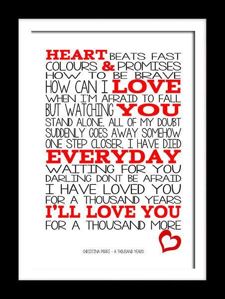 Christina Perri - A Thousand Years Lyrics | MetroLyrics