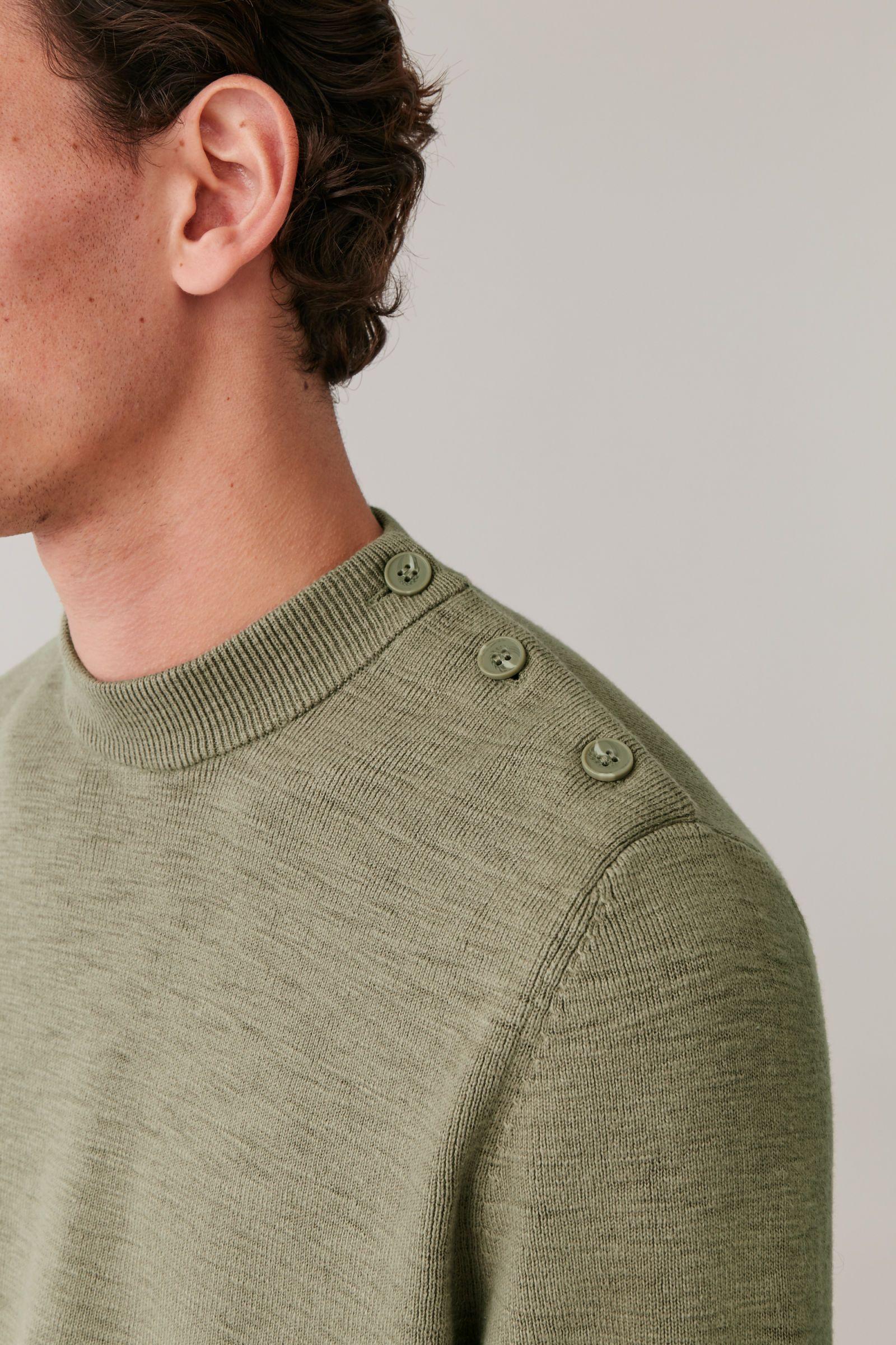 COS | New Year Wishlist in 2020 | Cotton sweater, Knitwear