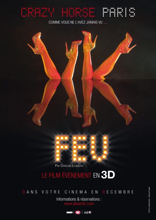 ParisFrenchTouch : Movie #Feu CRAZY HORSE #Paris #Louboutin