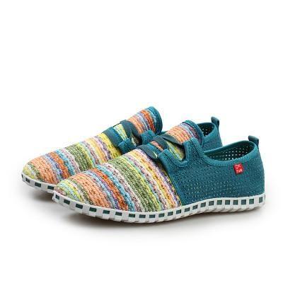 Rainbow Color Comfort Shoes