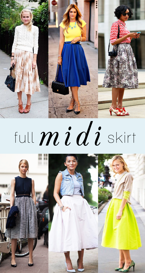 17 Best images about FALDA MIDI on Pinterest | Full midi skirt ...