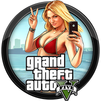 Gta V Icon V4 By Andonovmarko Grand Theft Auto Icon Theft
