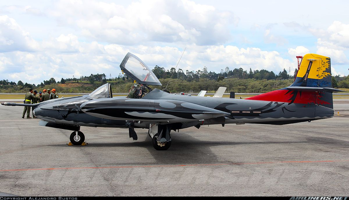 Cessna A-37B Dragonfly (318E) - Colombia - Air Force