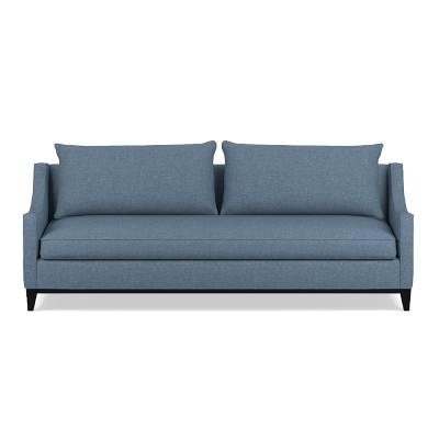presidio 94 sofa down cushion laundered belgian linen ciel rh pinterest es