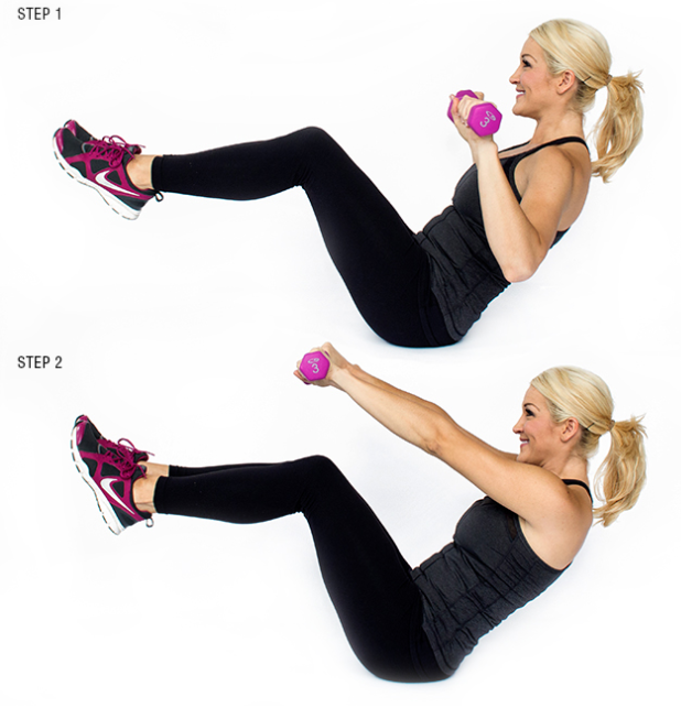 Free Weights Vs Yoga: 17 Moves Skinny Mom Swears By