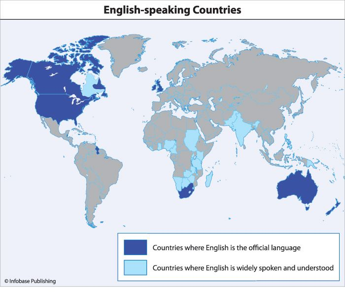 Map of english speaking countries bing images english speaking map of english speaking countries bing images gumiabroncs Gallery