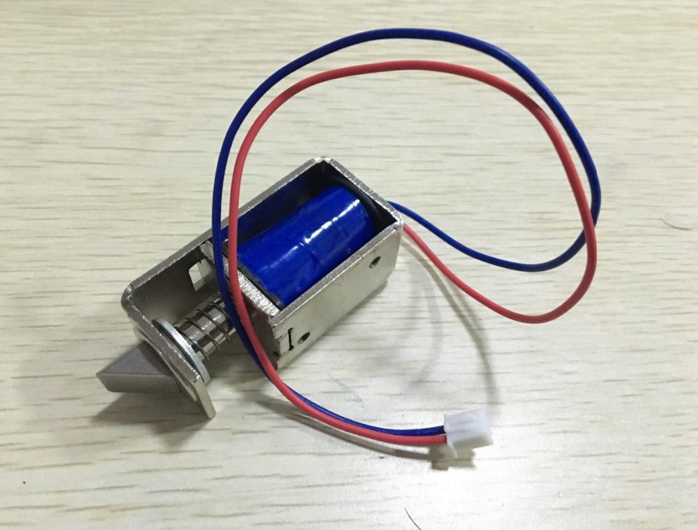 Dc 12v 1a 10mm Stroke 15n Force Open Frame Type Solenoid For Electric Door Lock With Images Open Frame Door Locks Frame