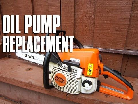 12 Chainsaw Oil Pump Gear Replacement Stihl 044 046 Ms440 Ms460 Youtube Stihl Chainsaw Engine Repair