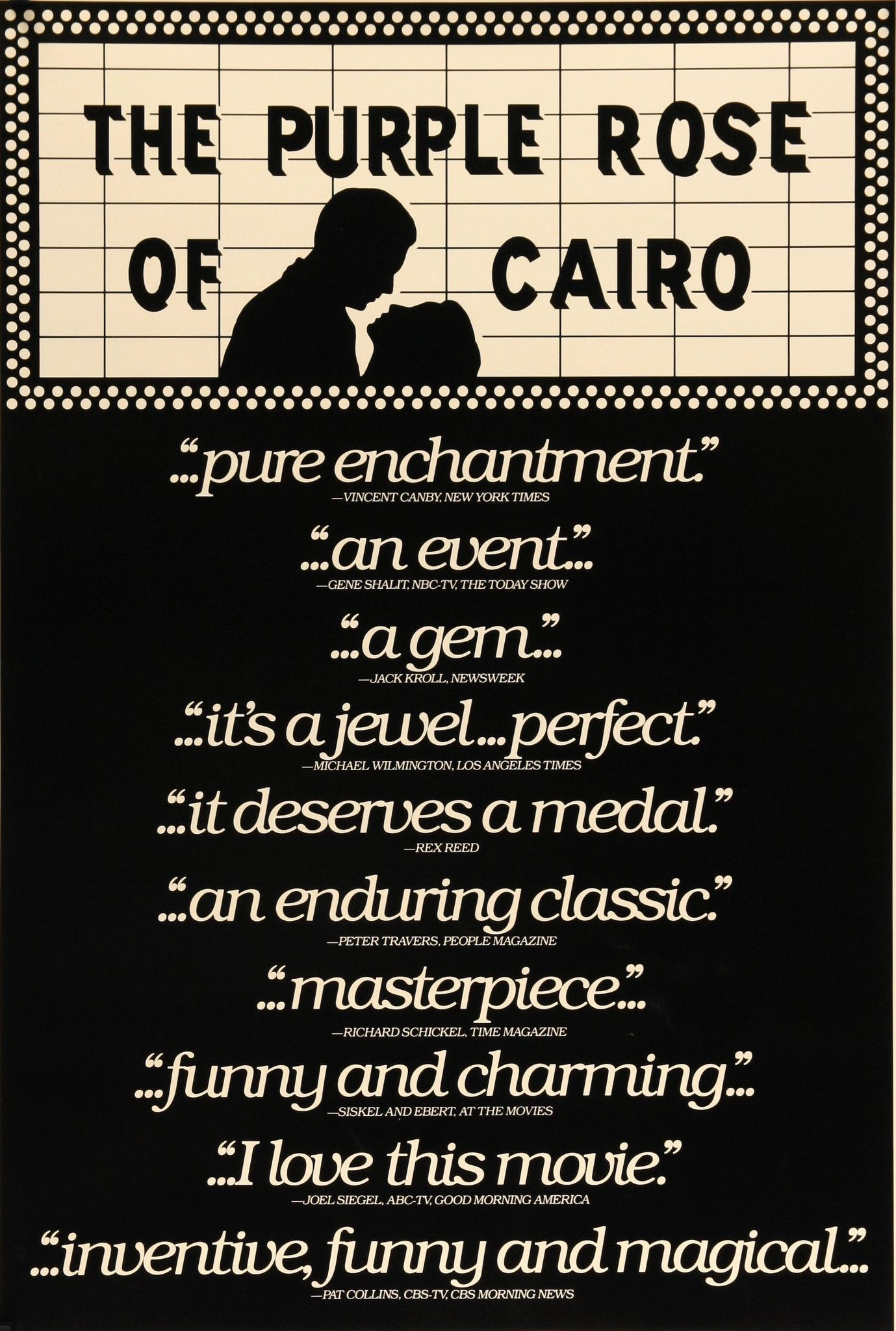 Purple Rose of Cairo (1985) Purple roses, Cairo, Purple