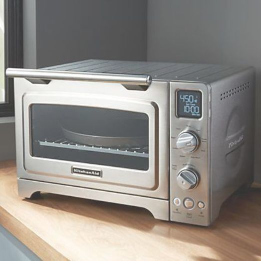 Kitchenaid 1 Cubic Foot Stainless Steel Convection Countertop Oven