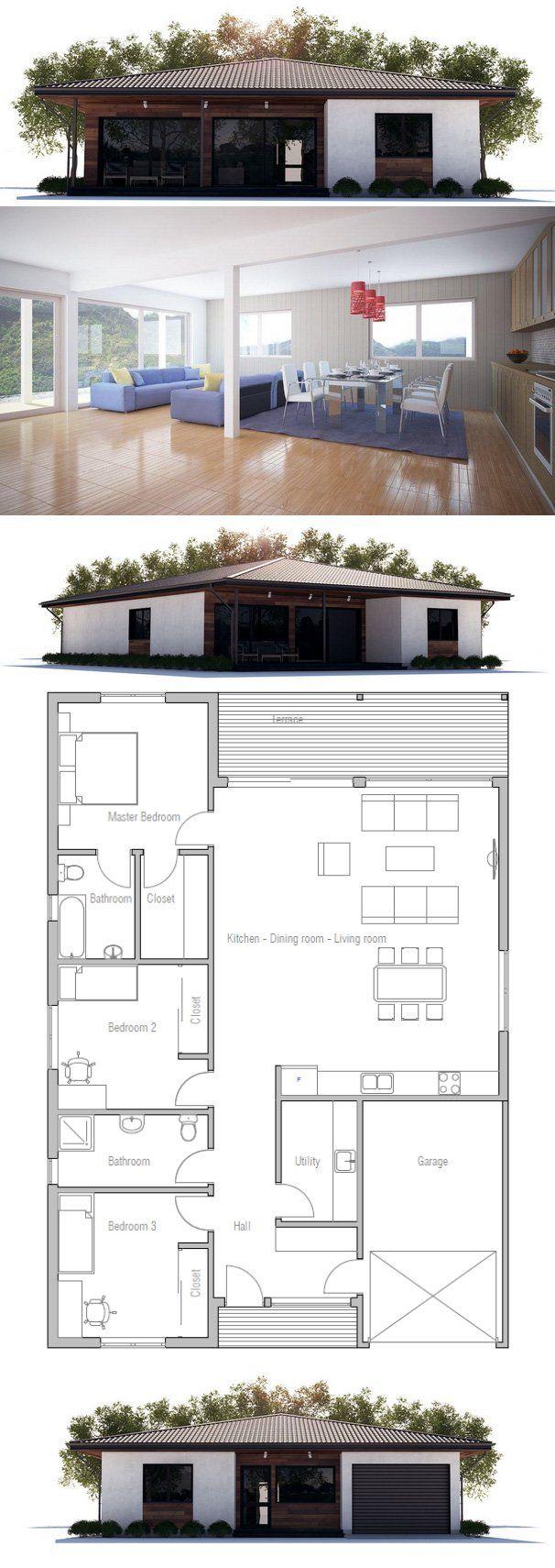 Small House Floor Plan Small House Floor
