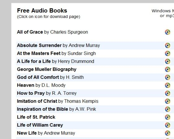 free christian audio books