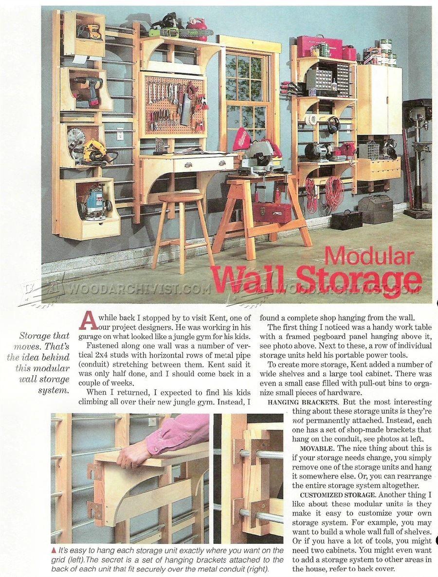 Work Modular Wall Storage System Solutions