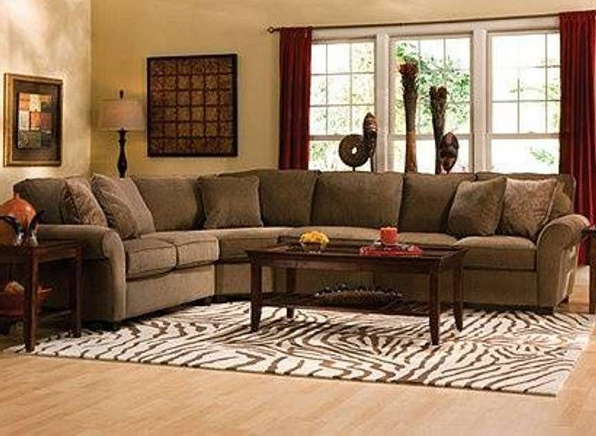 Furniture , Durable Chenille Sofa : Sectional Chenille ...