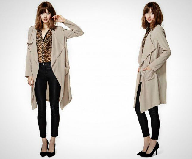 Save It For a Rainy Day: 14 Stylish Coats for Spring | Khaki ...