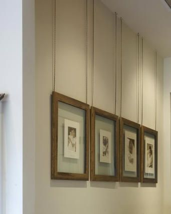 Hanging Art Great Way Of Hanging Art From The Ceiling With Images Hanging Art Ceiling Art Hanging Pictures