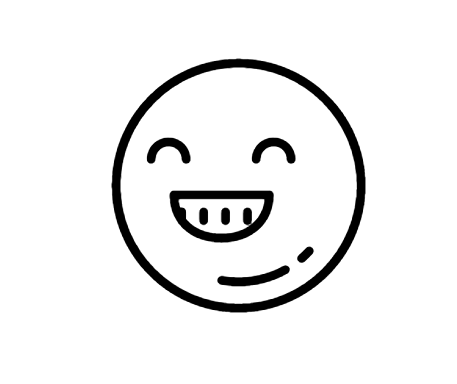 Happy Icon This Page Contains The Vector Icon As Well As Variations Of This Icon In Different Visual Styles And Related Icons Al Icon Android Icons All Icon