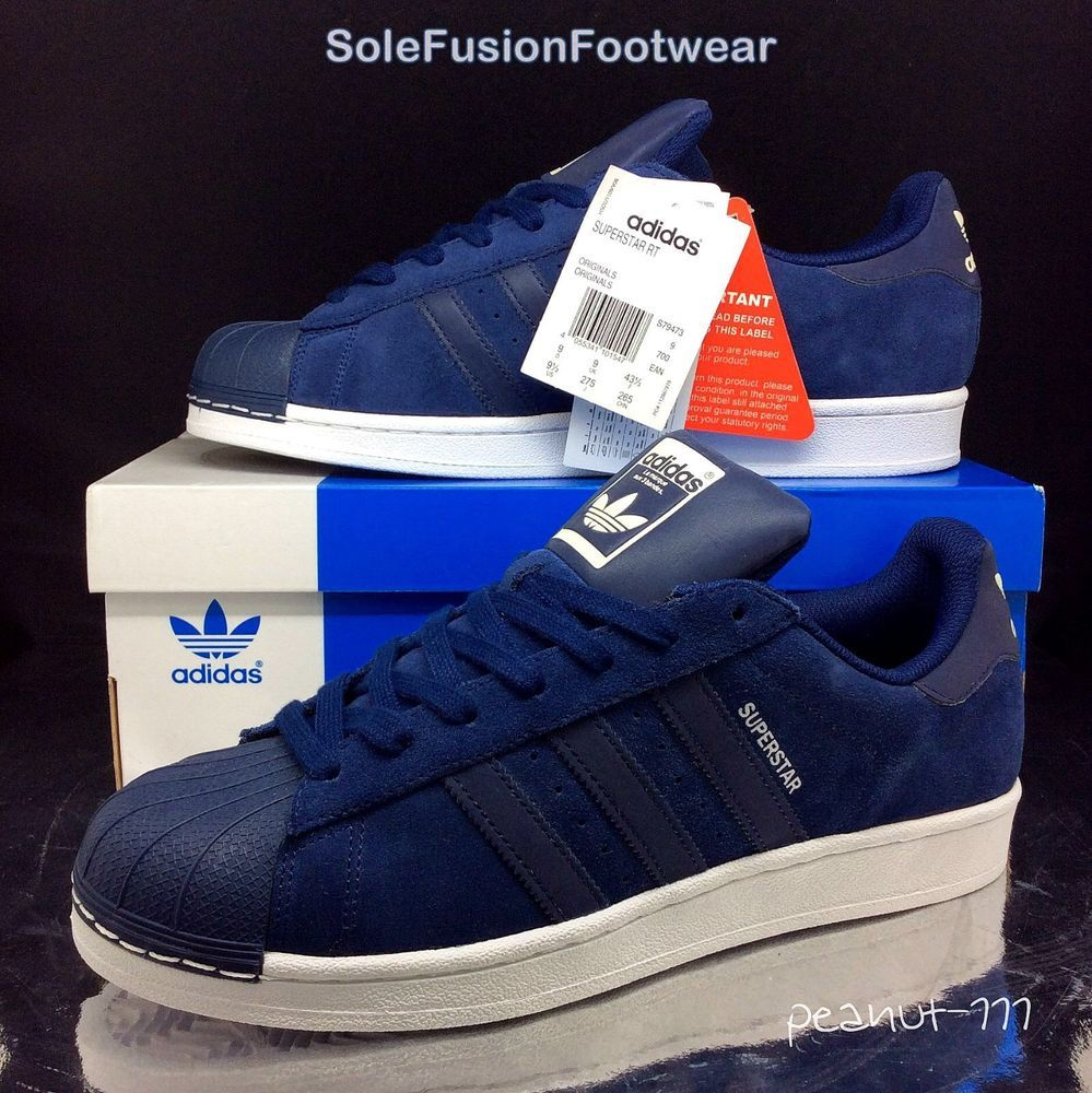 adidas superstar blue 43 1 3