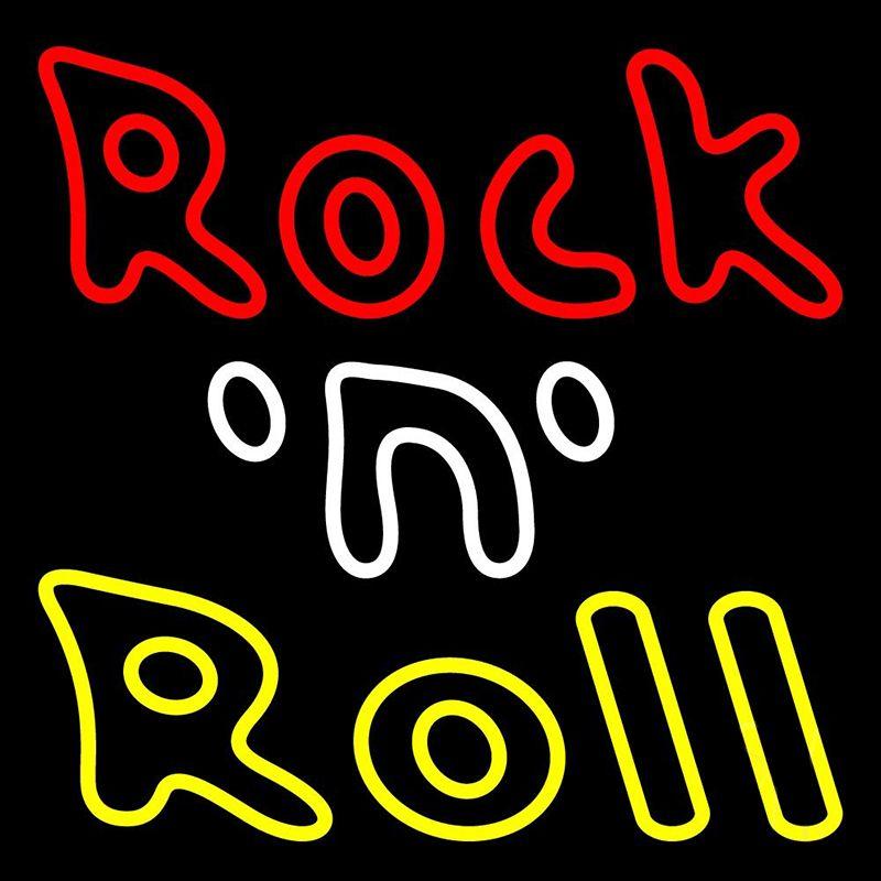 Rockstar Neon Light Rock and Roll Neon Lights Rolling Rock