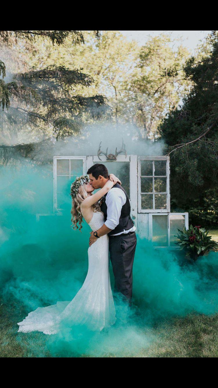 cool wedding shot ideas%0A Enola Gaye smoke grenades wedding photography by ENV Photography colored  smoke bombs rustic wedding Mais