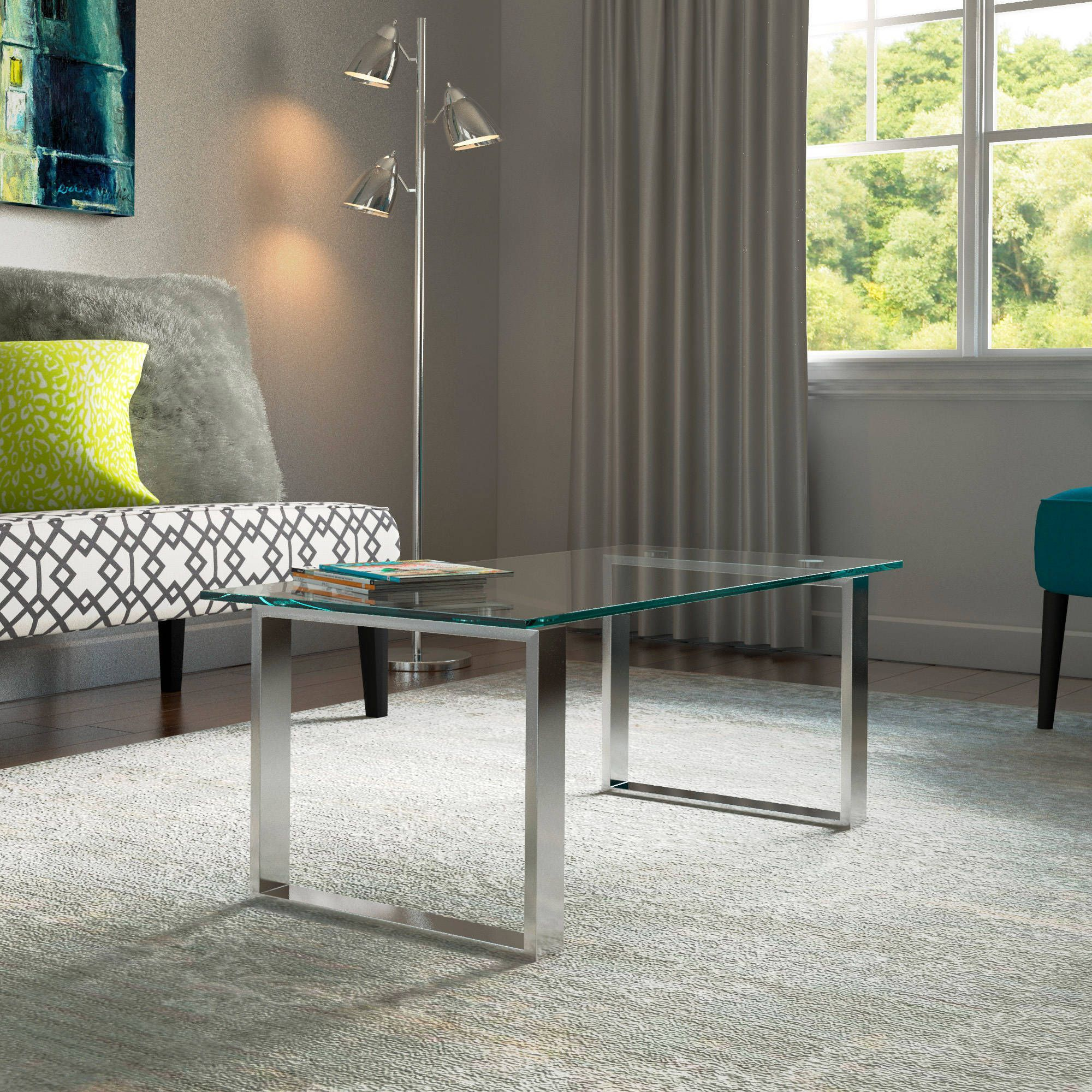 porch and den lodo wewatta chrome finished cocktail table k b rh pinterest com