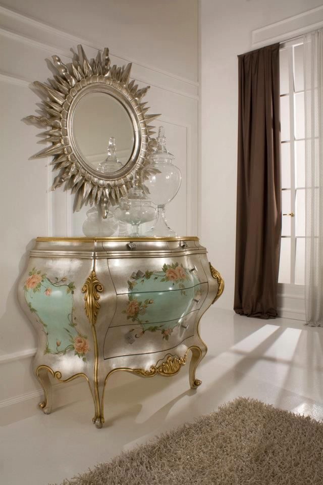 marble top bedroom furniture%0A Gold And Silver Gold Leaf Bedroom Furniture  Top and Best Italian Classic  Furniture