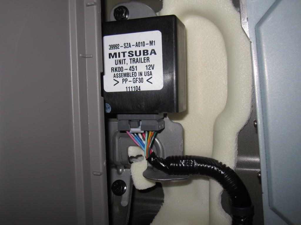 2012 Towing Harness Install Honda Pilot Honda Pilot Forums Honda Pilot Towing Installation