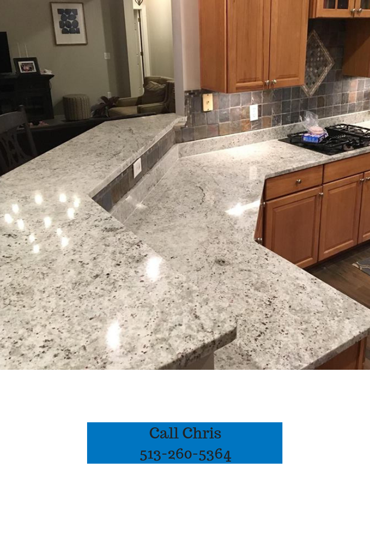 Call Chris Green, the granite countertop specialist of