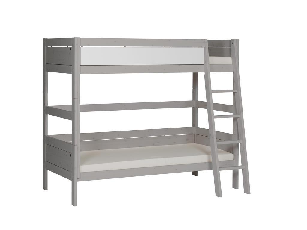 Etagenbett Weiss Mit Lattenrost : Kinder etagenbetten aus massivholz mit auszieh lattenrost