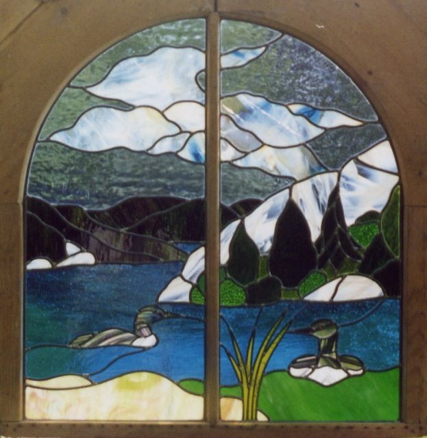 Stained Glass Cabinet Panels | Glass Kitchen Cabinets – Glass Doors ...