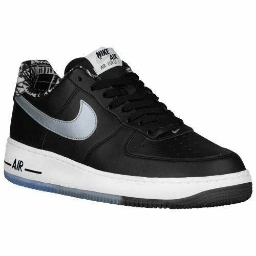 Nike Air Force 1 - Low - Men's $89.99 Selected Style: Black/Metallic Silver