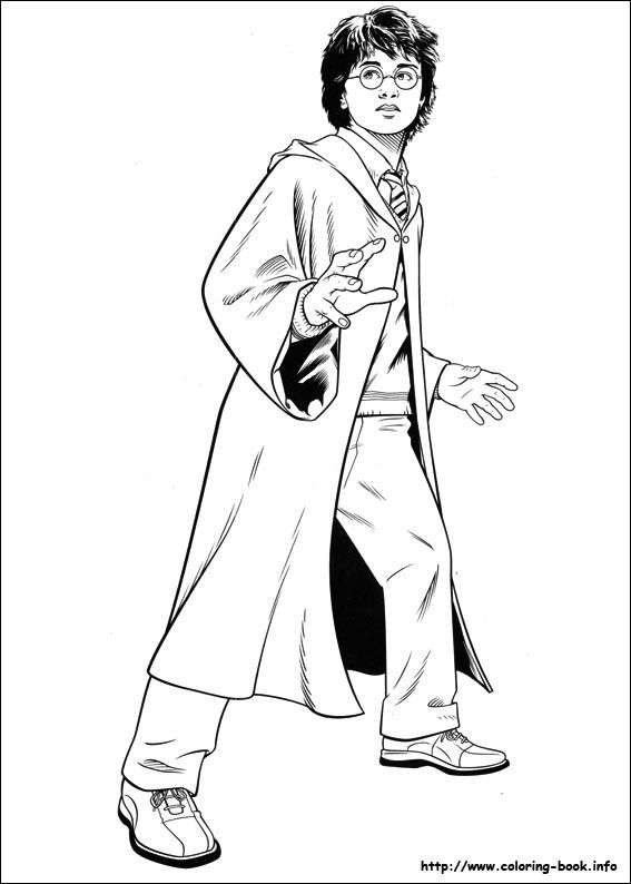 Harry Potter Coloring Picture Harry Potter Ausmalbilder Harry Potter Bilder Ausmalbilder