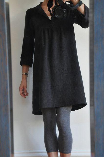 Tova Wiksten Dress Loose Fitting Sewing Dress Pattern Shirt Like