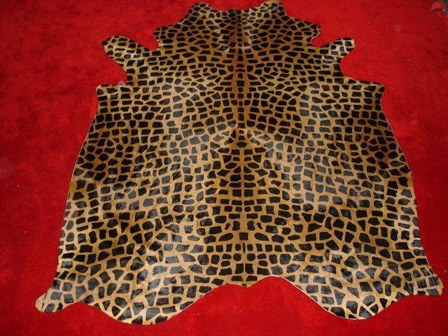 Hollywood Love Rugs Giraffe Cowhide Medium Print Dark Brown On Caramel 299 00 Http